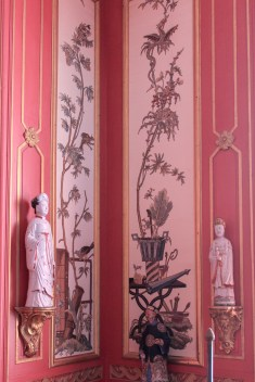 The Embroidered Room - so called because of the embroidered chinoiserie wall panels. (The embroidery is original, but it has been transferred to new white silk backing)
