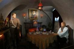 Rasputin with young Felix Yusupov in the moments just before he shot Rasputin