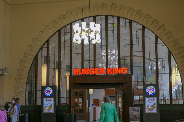 An Art Nouveau Burger King