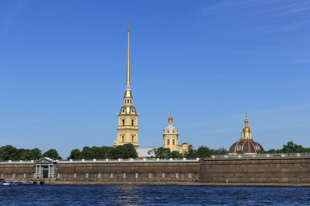 Spires of the Admiralty & Ss Peter & Paul fortress