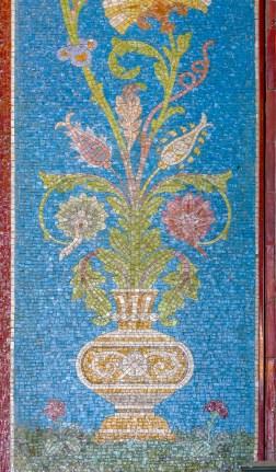 Closeup of the mosaic