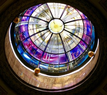 Santa Maria degli Angeli - modern glass dome