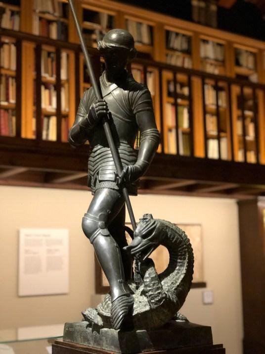 Sant Jordi (St George) by Frederic Marès