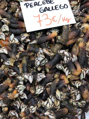 Percebes (goose-necked barnacles)