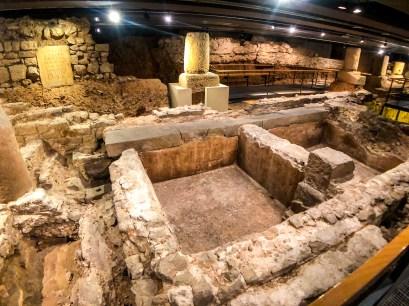 Barcelona History Museum - Roman streets