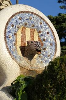 Park Güell - Serpent Sculpture