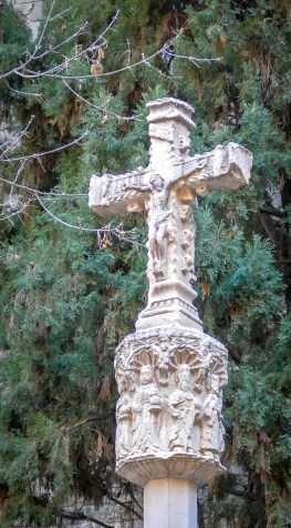 The cross dates back to the 1300s.