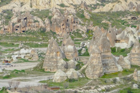Göreme Fairy Chimneys Sunset Point