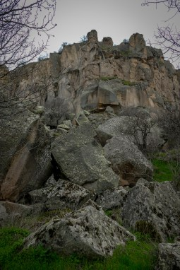 There have been many rockfalls over the years.