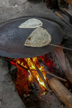 We came upon some local ladies making Gozleme over an open fire. Delicious!
