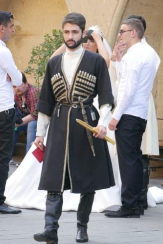 Wedding #3. Traditional Georgian menswear.