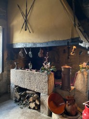 Big inglenook fireplace