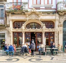 Gorgeous & iconic art nouveau cafe