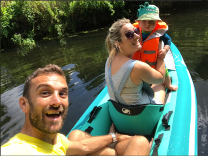 Our first family microadventure