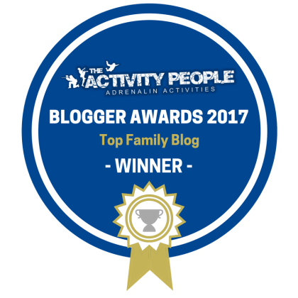 Family Blog of the Year winners!