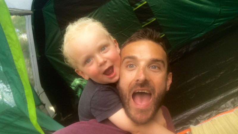 Why garden camping is great fun for families