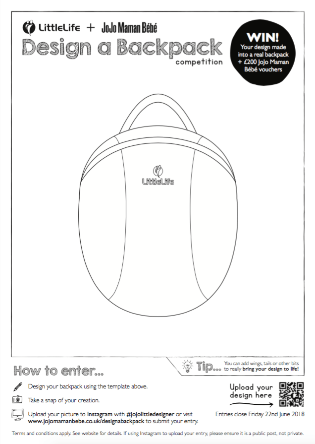 LittleLife backpack competition