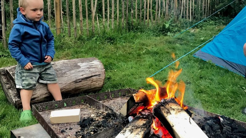 Camping with toddlers – how scary is it?