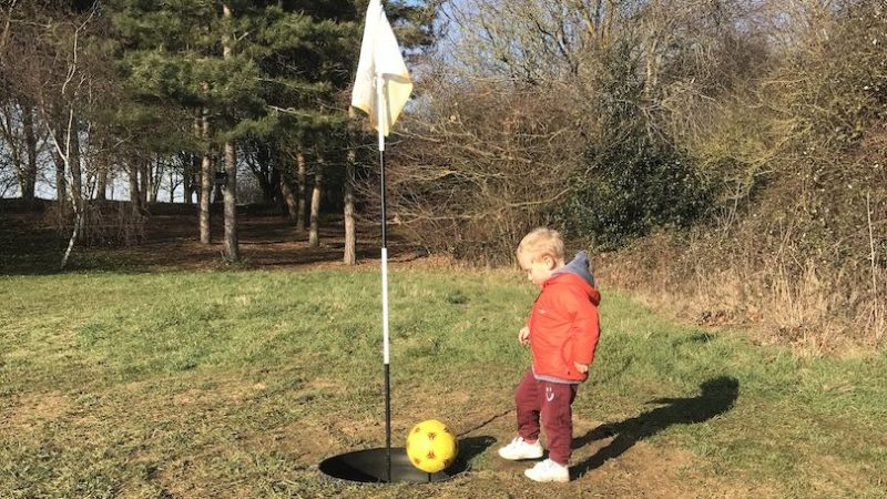 Can you play footgolf with toddlers?