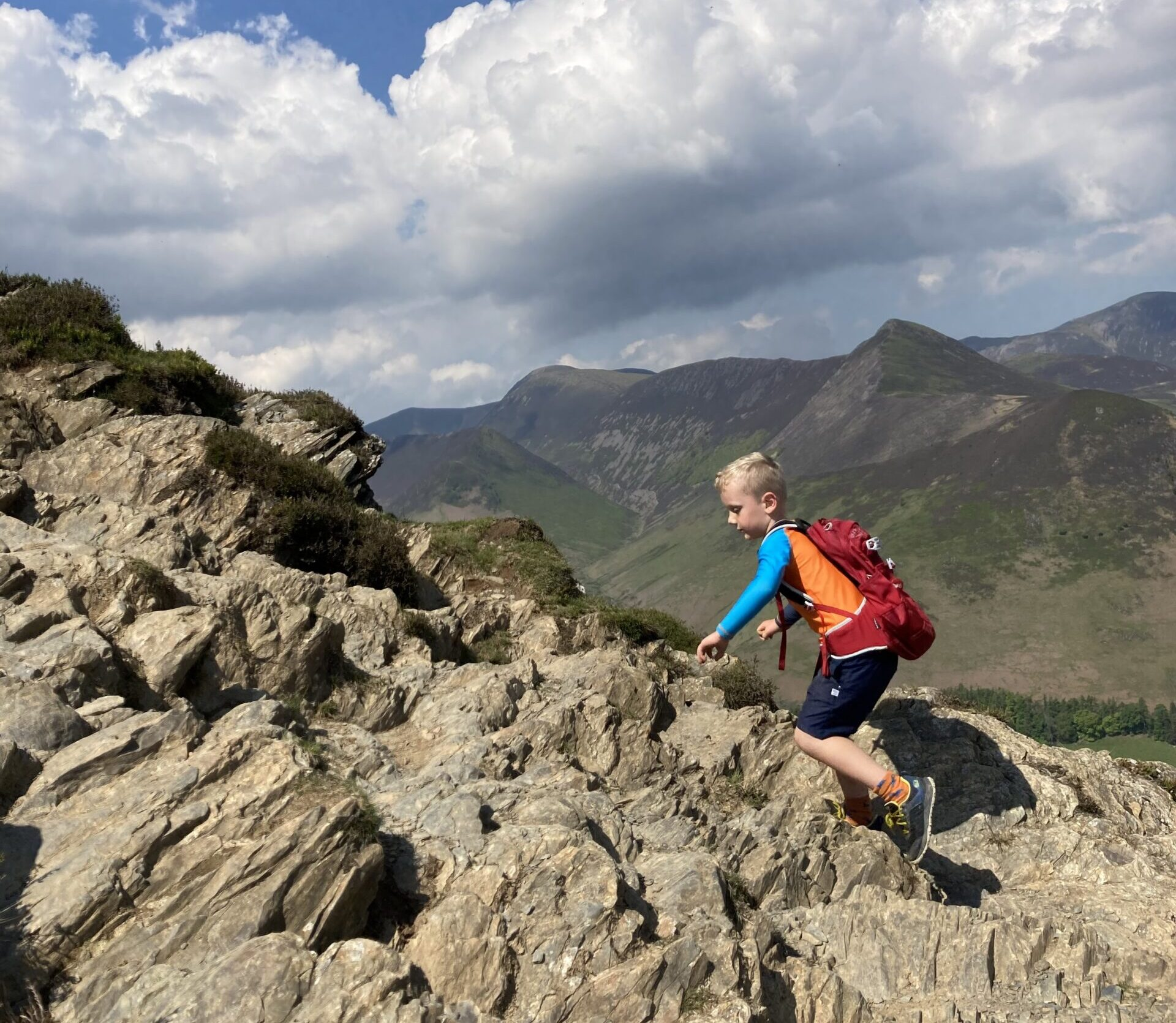 What's the best first mountain for kids?