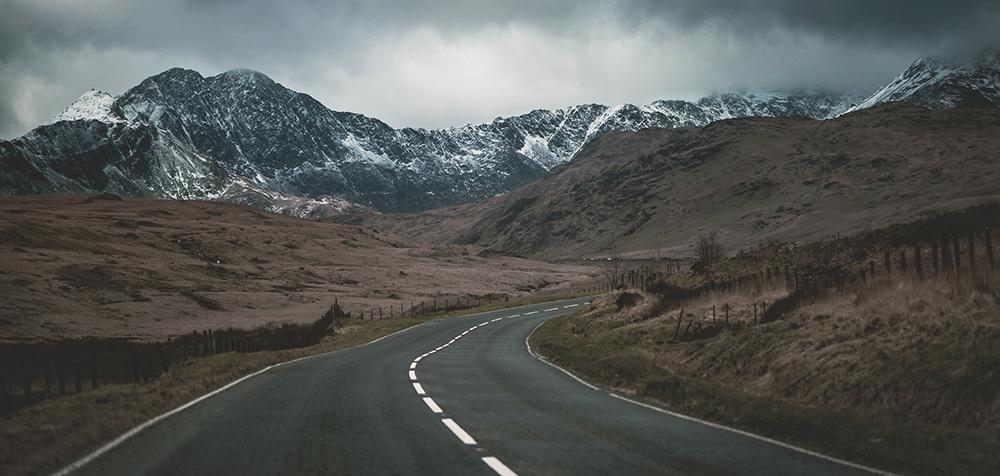 Approaching Snowdon