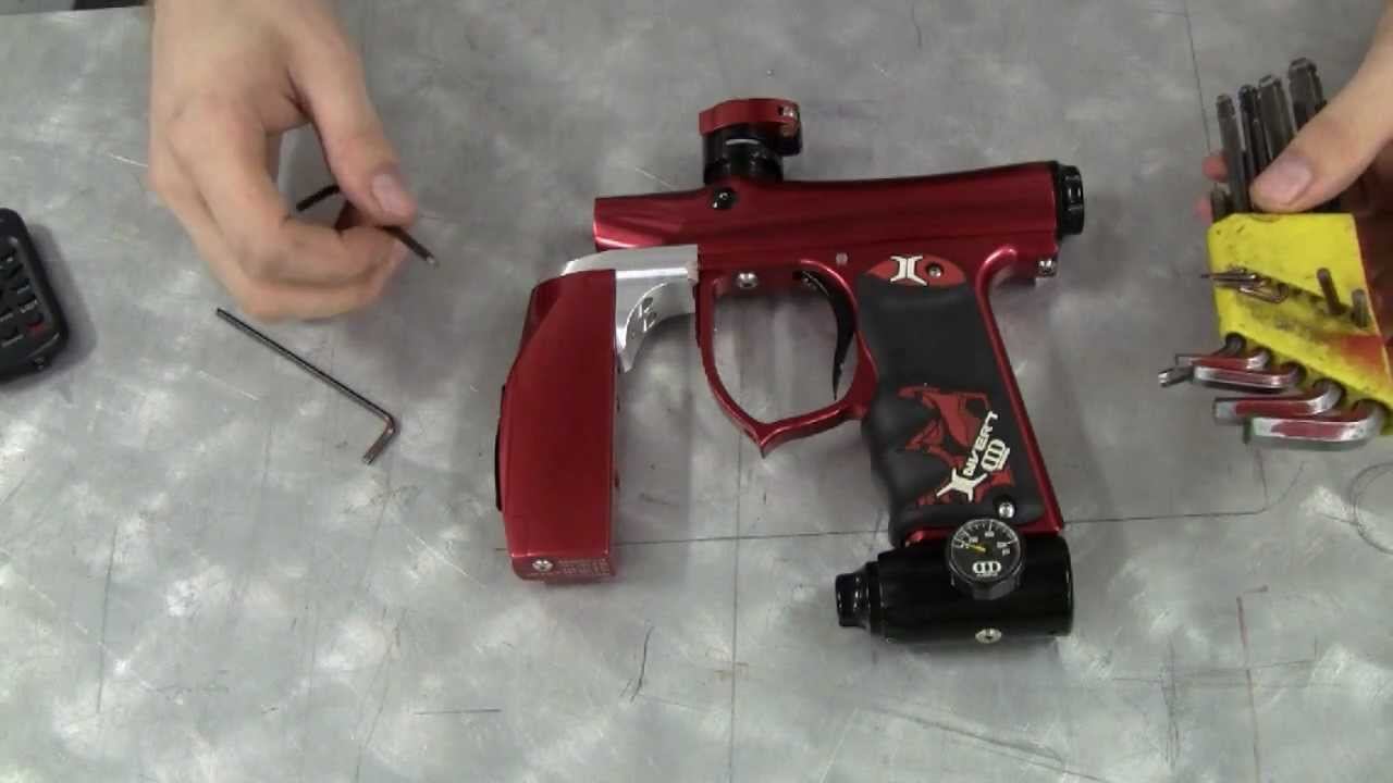 paintball gun maintenance