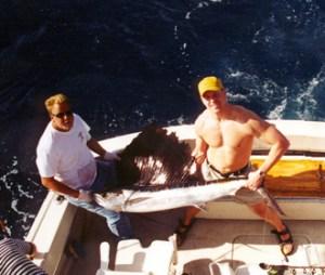 Typical South Florida Sailfish