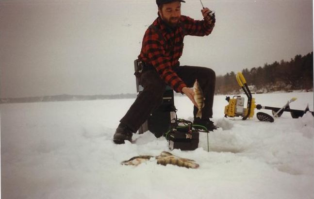 Dave Sumner of Flirty Girty Ice Fishing Gear