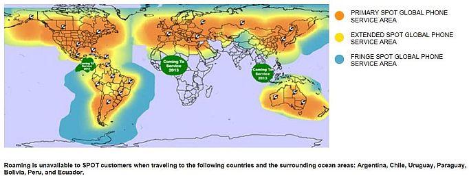 Spot Global Phone Coverage