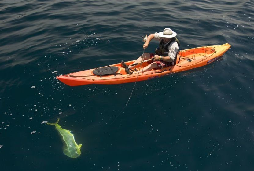 Offshore Kayak Fishing