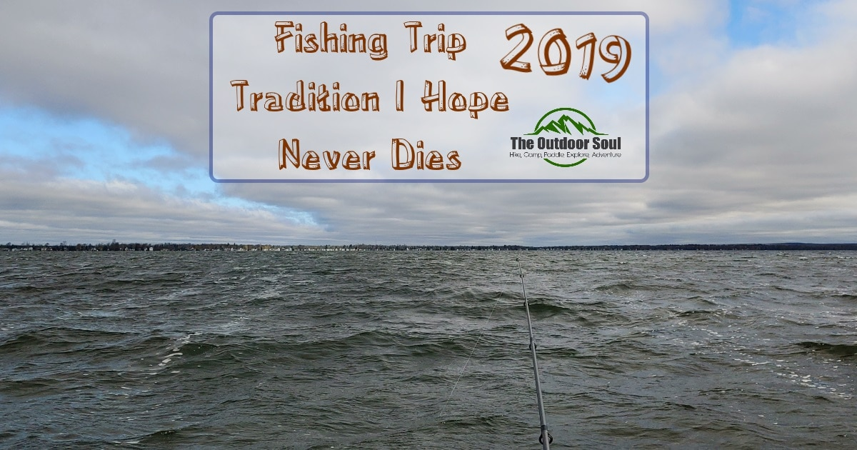 The fishing trip that never was