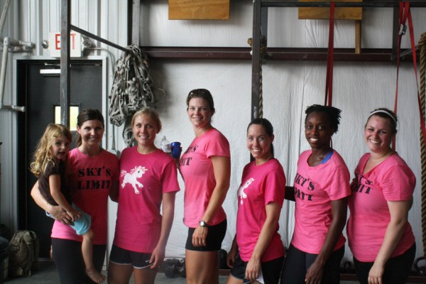 Sky's Limit CrossFit ladies