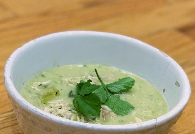 chicken tomatillo avocado soup