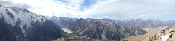 Panorama from the furture parragliding spot.