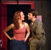Kate Turnbull as Charlie and Dan Hartley as Maverick