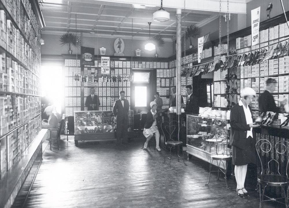 Bowring's Store, interior view, late 1920s