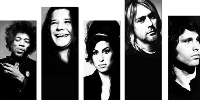 Image result for club 27 winehouse,cobain,hendrix,morrison,joplin