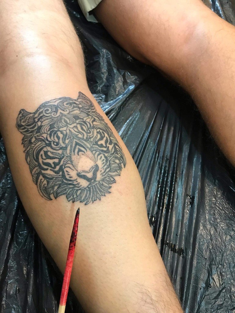 Bamboo Tattoo Tiger