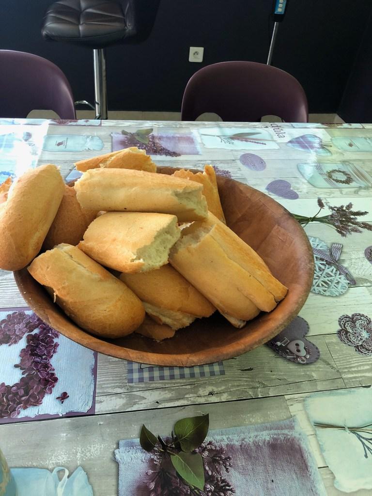 Baguettes in Tahiti
