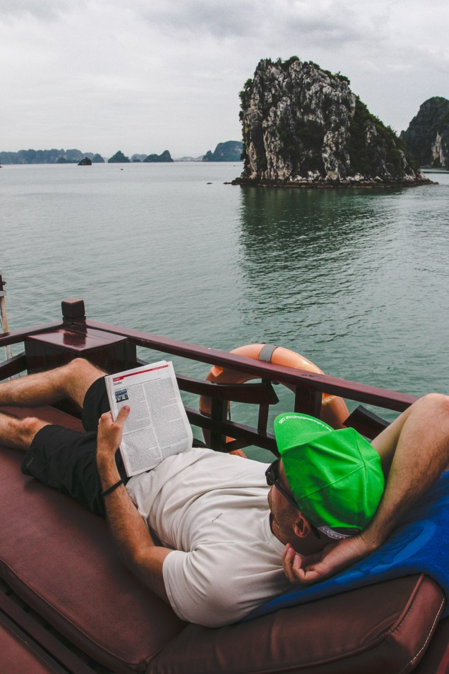 Indochina Junk - Ha Long Bay Vietnam - The Overseas Escape-2