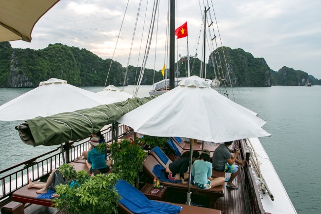 Indochina Junk - Ha Long Bay Vietnam - The Overseas Escape-24