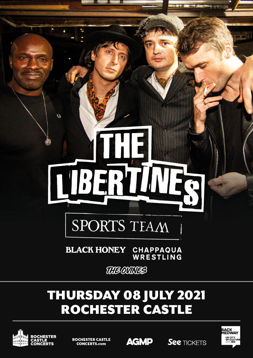 The Ovines opening for The Libertines 2021