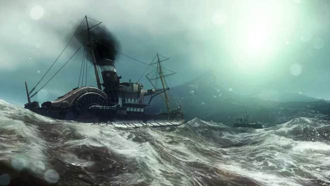 Dishonored Sea Scene