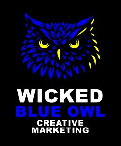 Wicked Blue Owl Creative Marketing Websites Social Media Branding Promo Swag Print Calgary Alberta Canada