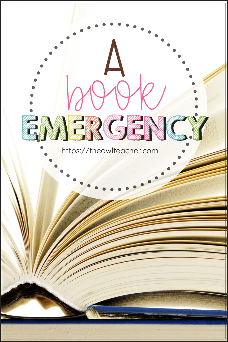 Attention, Please. We Have a Book Emergency!
