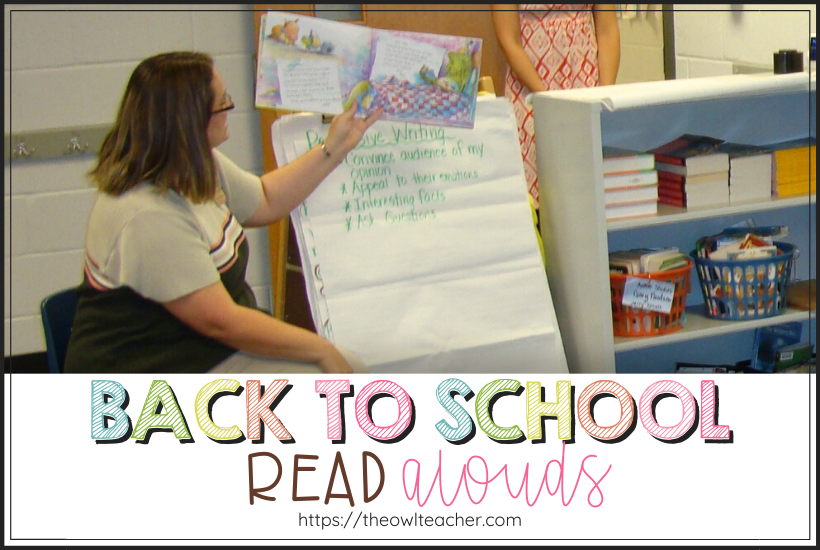 These back to school read alouds are sure to be a hit in your classroom. Get to know your students and establish some ground rules in a fun, simple manner!