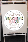 DIY Easel for Your Classroom: Simple & Effective!