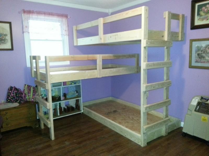 homemade bunk bed ideas