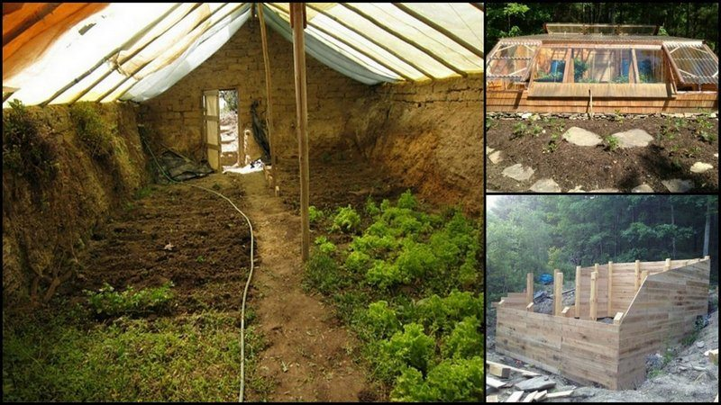 Earth Sheltered Greenhouse The Owner Builder Network