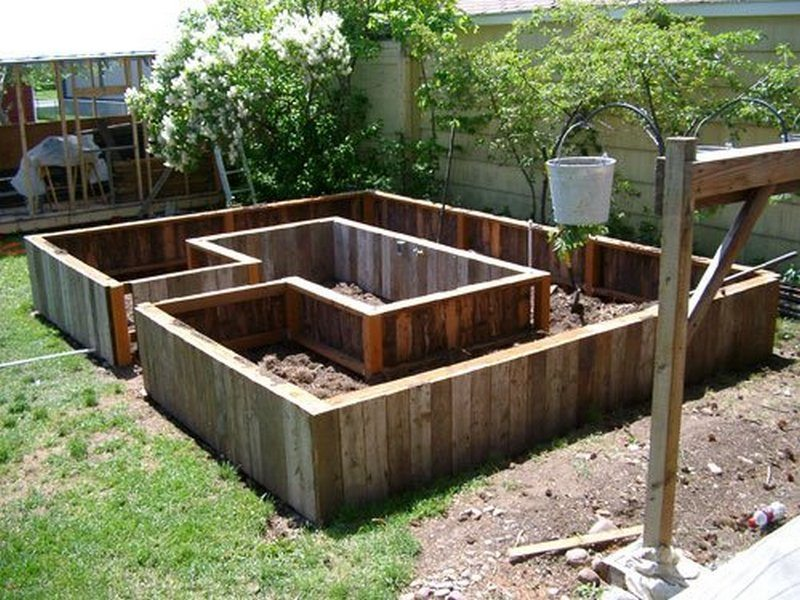 Making Above Ground Garden Box